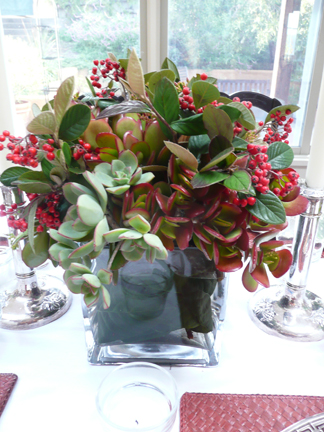 Learn How To Create Long Lasting Holiday Centerpieces Using Succulents
