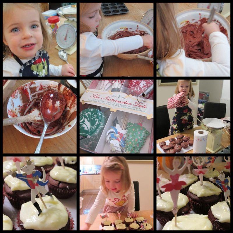 Phoebe's red velvet cupcakes