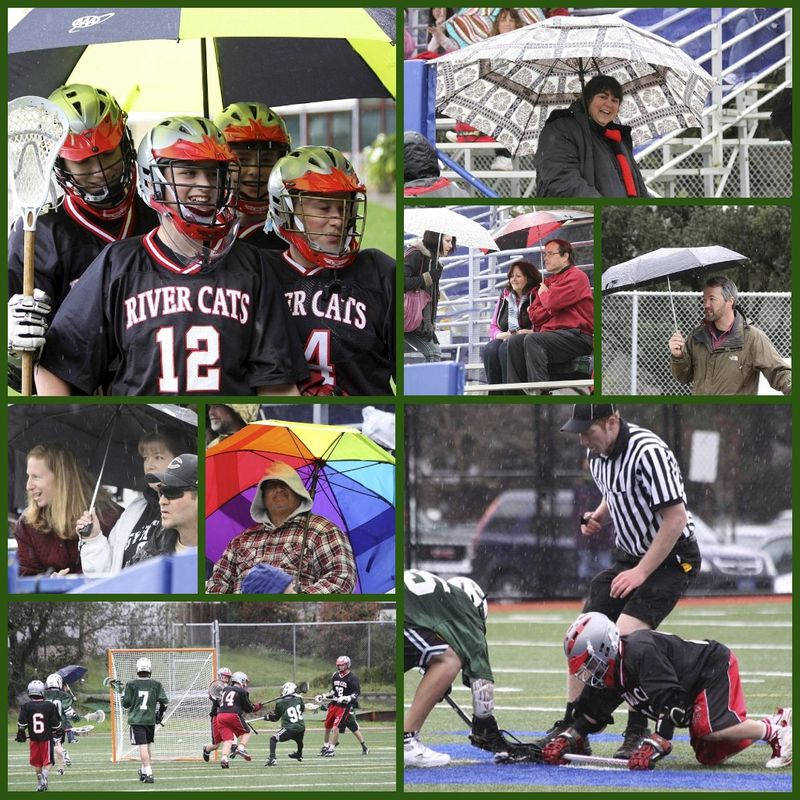 Spring sport collage