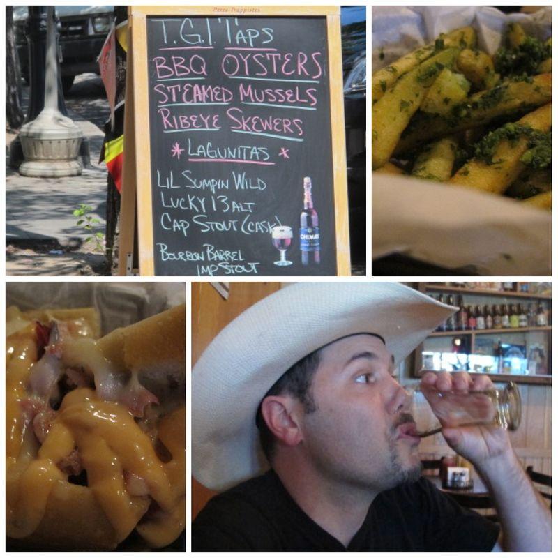 Taps Taste of Petaluma collage