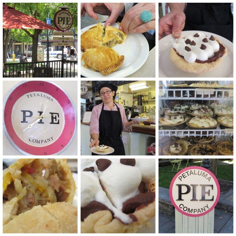 Petaluma Pie Company Taste of Petaluma collage