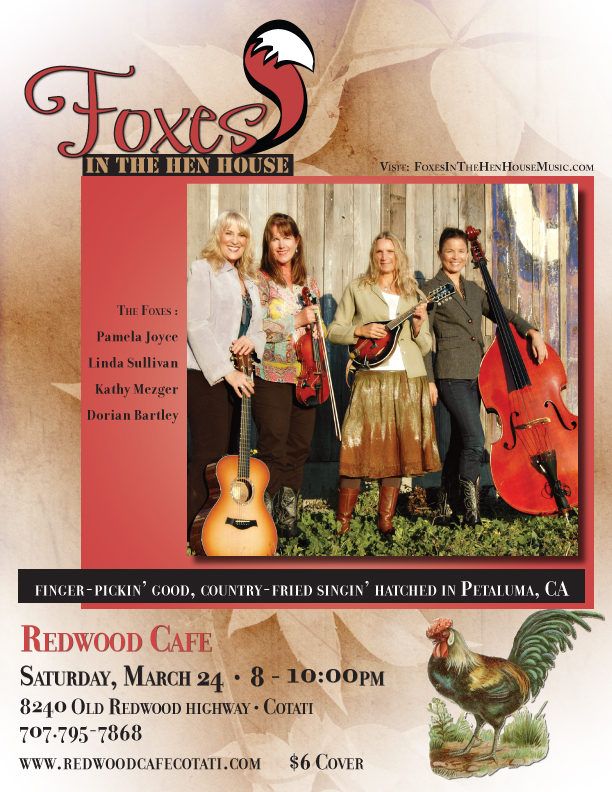 Foxes redwood cafe mar 24 LOW RES