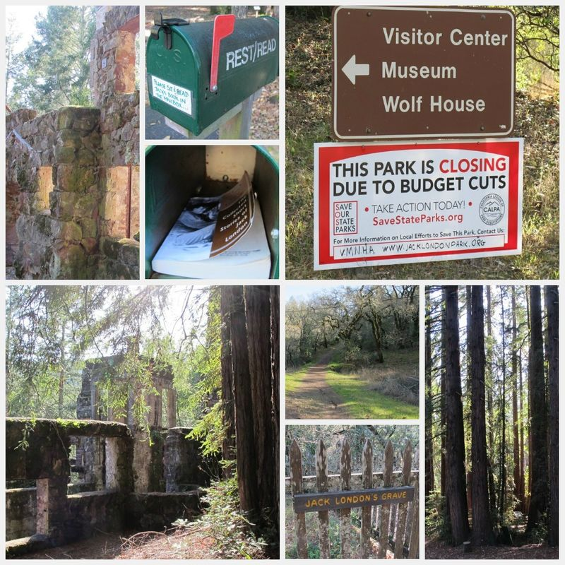 Jack London State Park collage