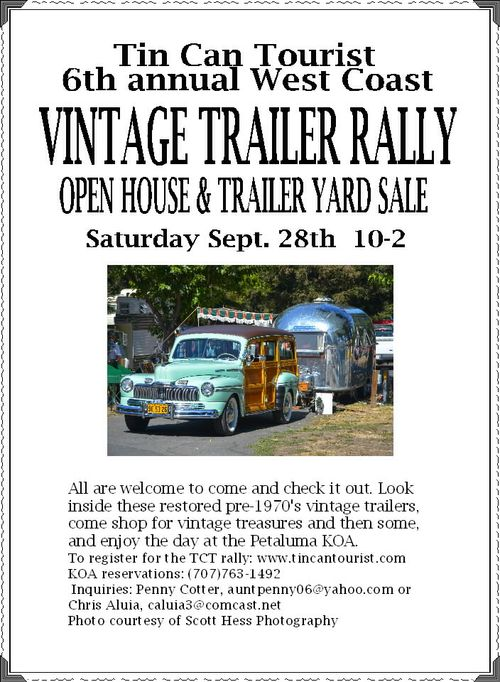 Vintage trailer rally 2013
