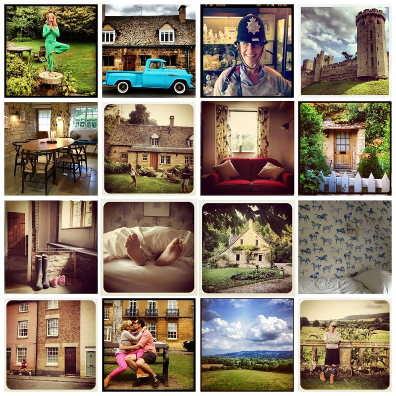 Buckland Cottage collage