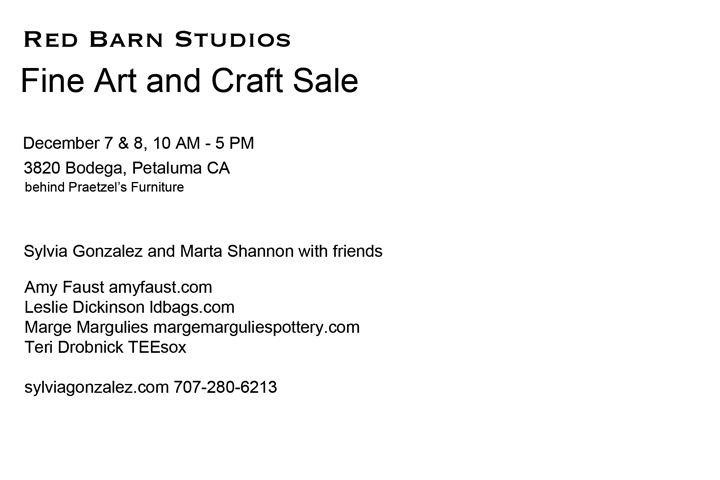 Red Barn Studio sale verso
