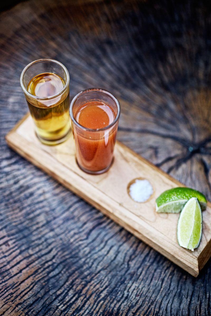 Tequila Serving La Condesa Napa credit Jody Horton