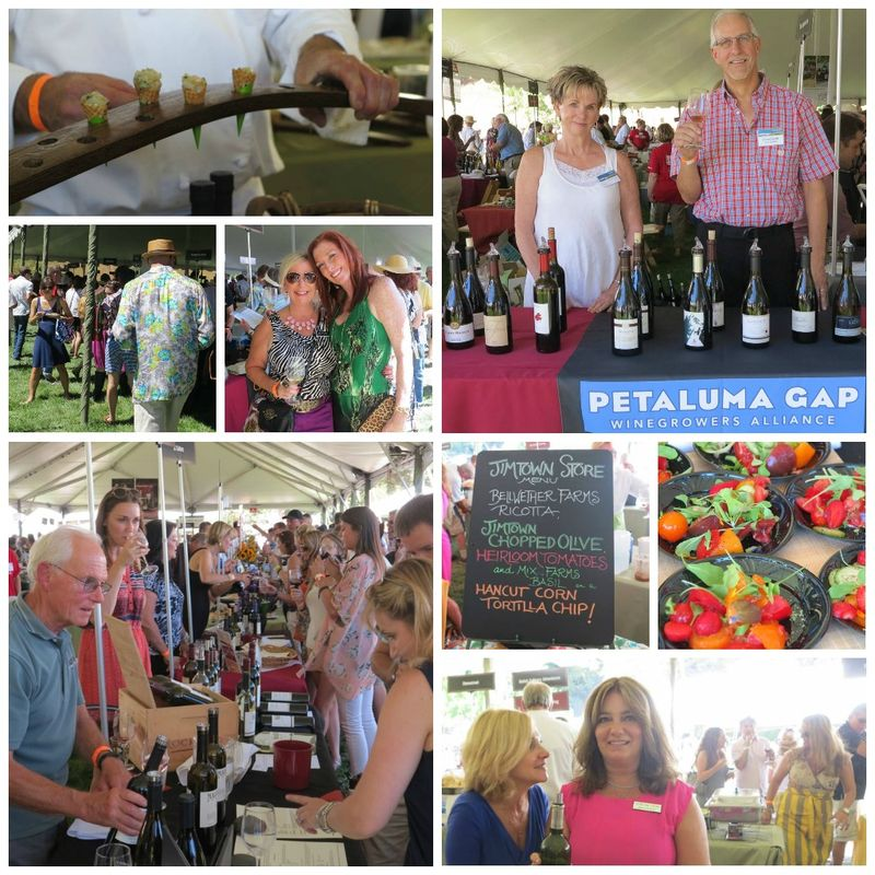 Taste of Sonoma collage