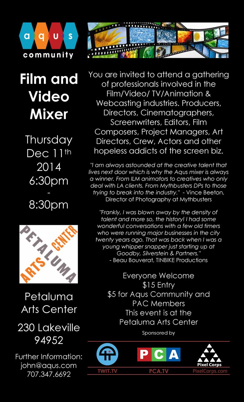 Film and Video Mixer - Dec 2014