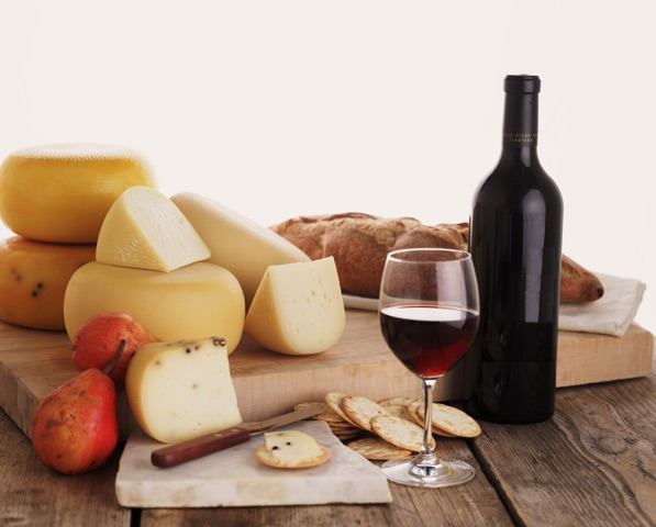Wine and cheese_