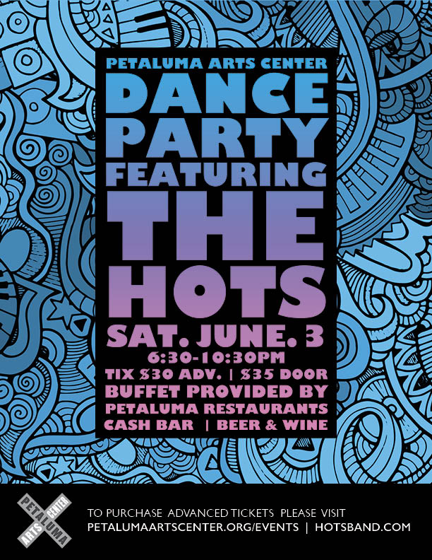 Petaluma Arts Center - The HOTS - 6.3