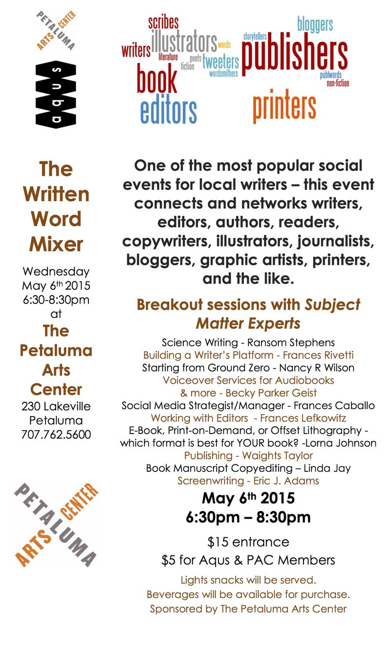 Mixer Written Word - May 2015