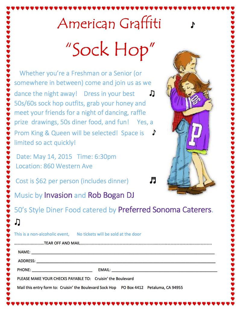 Sock hop form 2