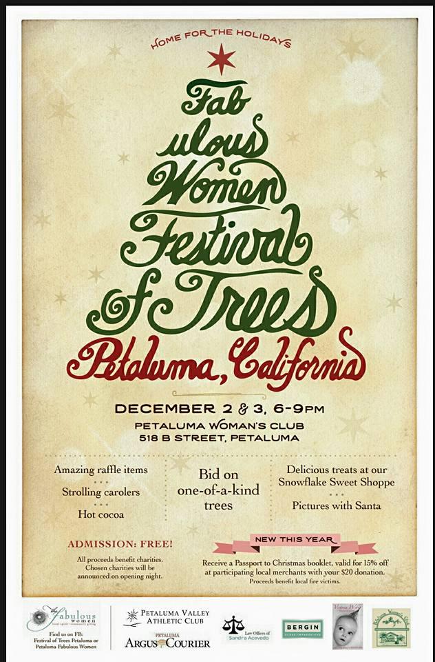 Christmas Fundraiser.Fabulous Women Festival Of Trees 2016 Announces Passport To