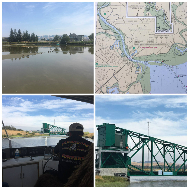 Petaluma river collage 1
