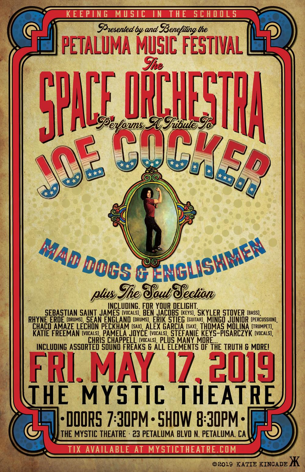 f14097e79bb A Smorgasbord of Sonoma County s Musical Talent — The Space Orchestra  Performs a Tribute to Joe Cocker — Mad Dogs   Englishmen Plus The Soul  Section