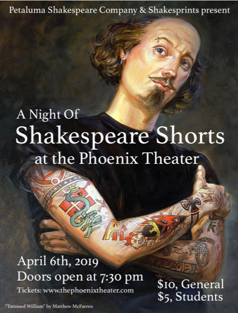 Shakespeare Shorts Poster 4-6-19