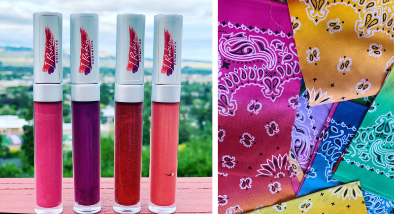 Lipgloss-bandanas