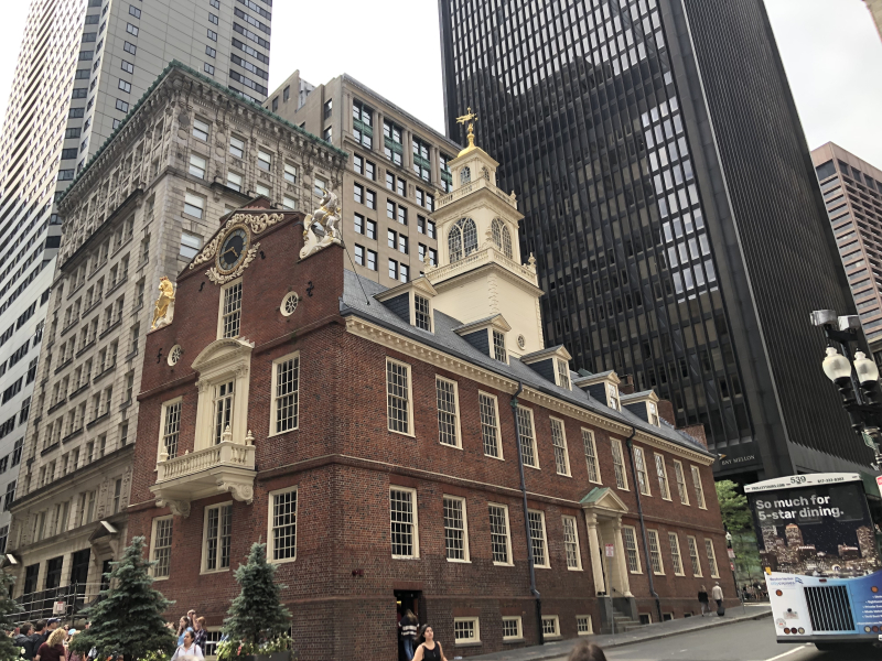 Freedom Trail Boston — Old State House