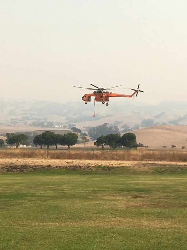 Petaluma Wildfire Season 2017